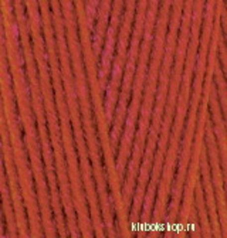 Пряжа Lanagold 800 (Alize) 36 терракот, фото