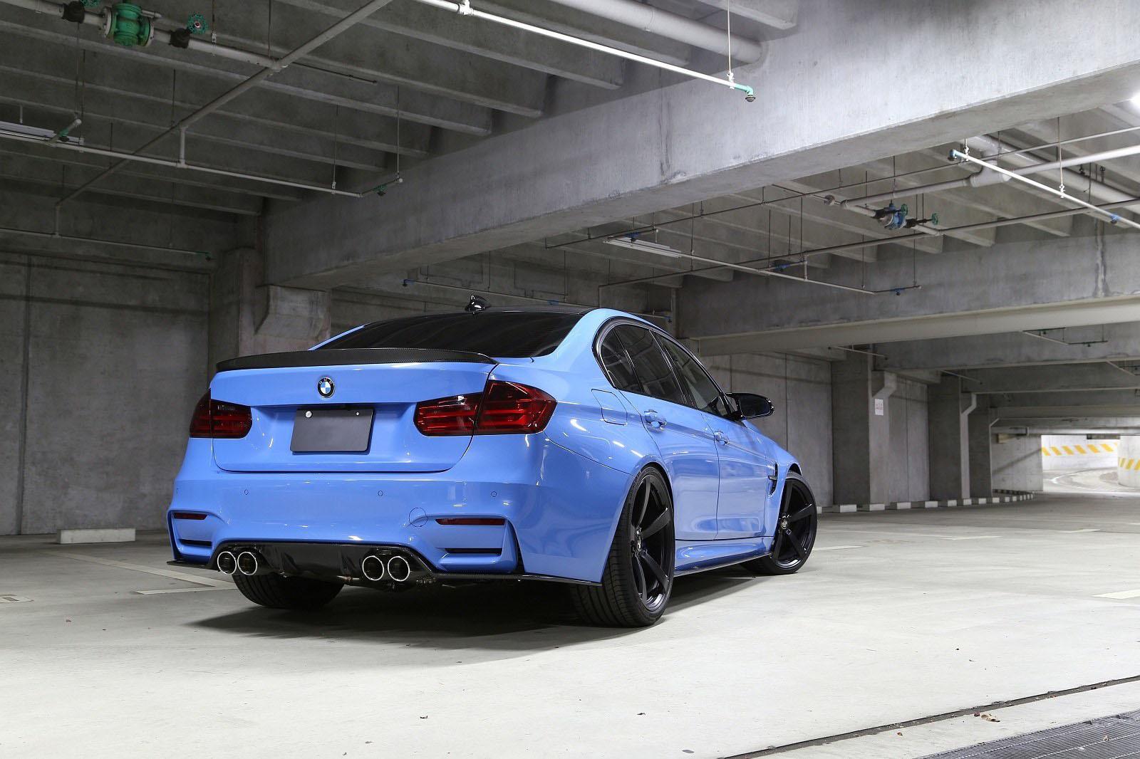 Карбоновый задний диффузор тип 2 для BMW M3 F80