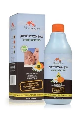 Baby Bath Oil Масло для ванны с календулой и ромашкой 400 мл. (стандарт)