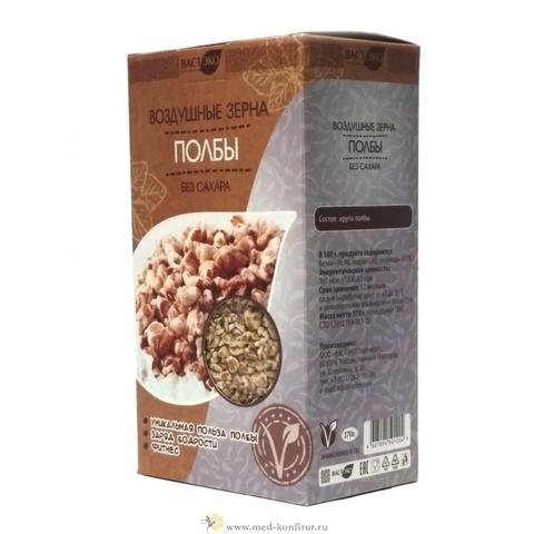 Зерна воздушные из полбы без сахара, 170 гр. (ВАСТЭКО)