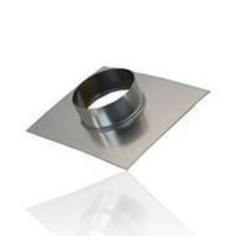 Фланец D 125 оцинкованная сталь