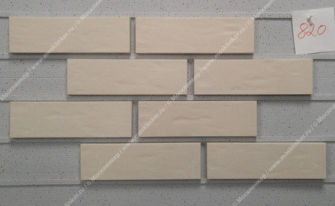 Roben - Oslo, perlweiss, NF14, 240x14x71, мерейная (genarbt) - Клинкерная плитка для фасада и внутренней отделки