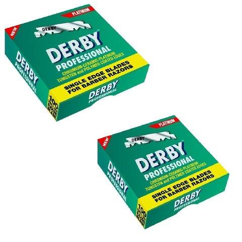 Лезвия для шаветок Derby 100 шт