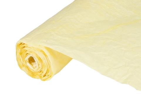 Бумага жатая эколюкс 70см х 5м светло-желтая 15