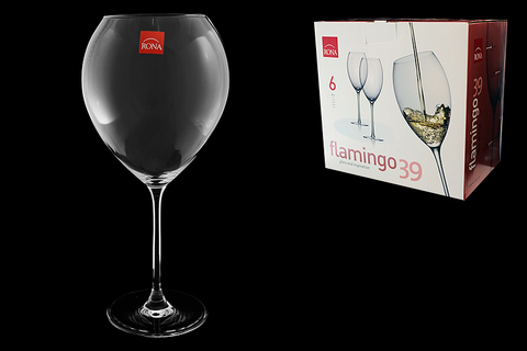 Набор бокалов для вина «Flamingo», 910 мл