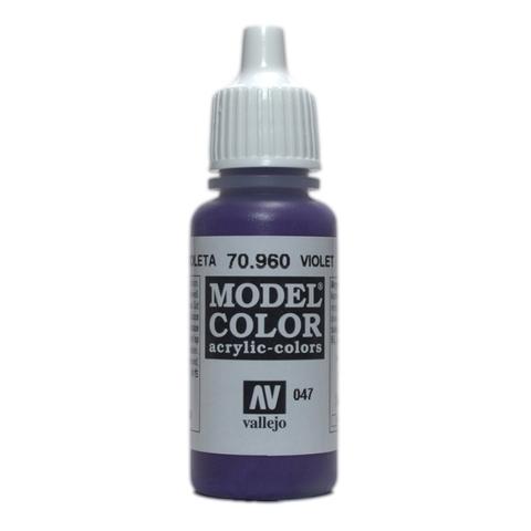 Model Color Violet 17 ml.