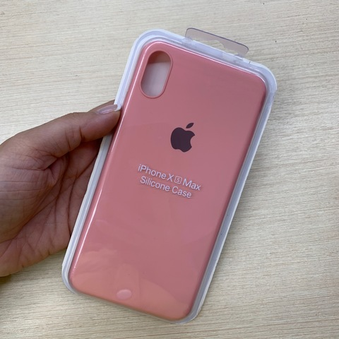 Чехол iPhone XS Max Silicone Slim Case /light pink/