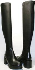 Сапоги чулки выше колена Rovigo 8090