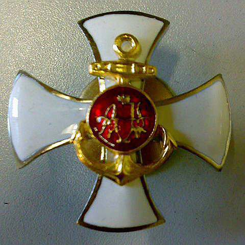 Знак Кронштадтского пехотного полка