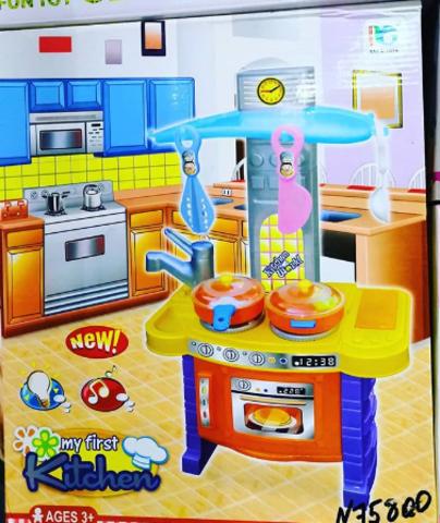 Кухонная утварь и духовка 65 СМ