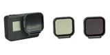 Набор фильтров PolarPro Venture 3-Pack HERO 5/6/7 Black на камере
