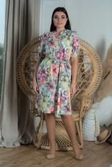 Альбина. Летнее красивое платье больших размеров
