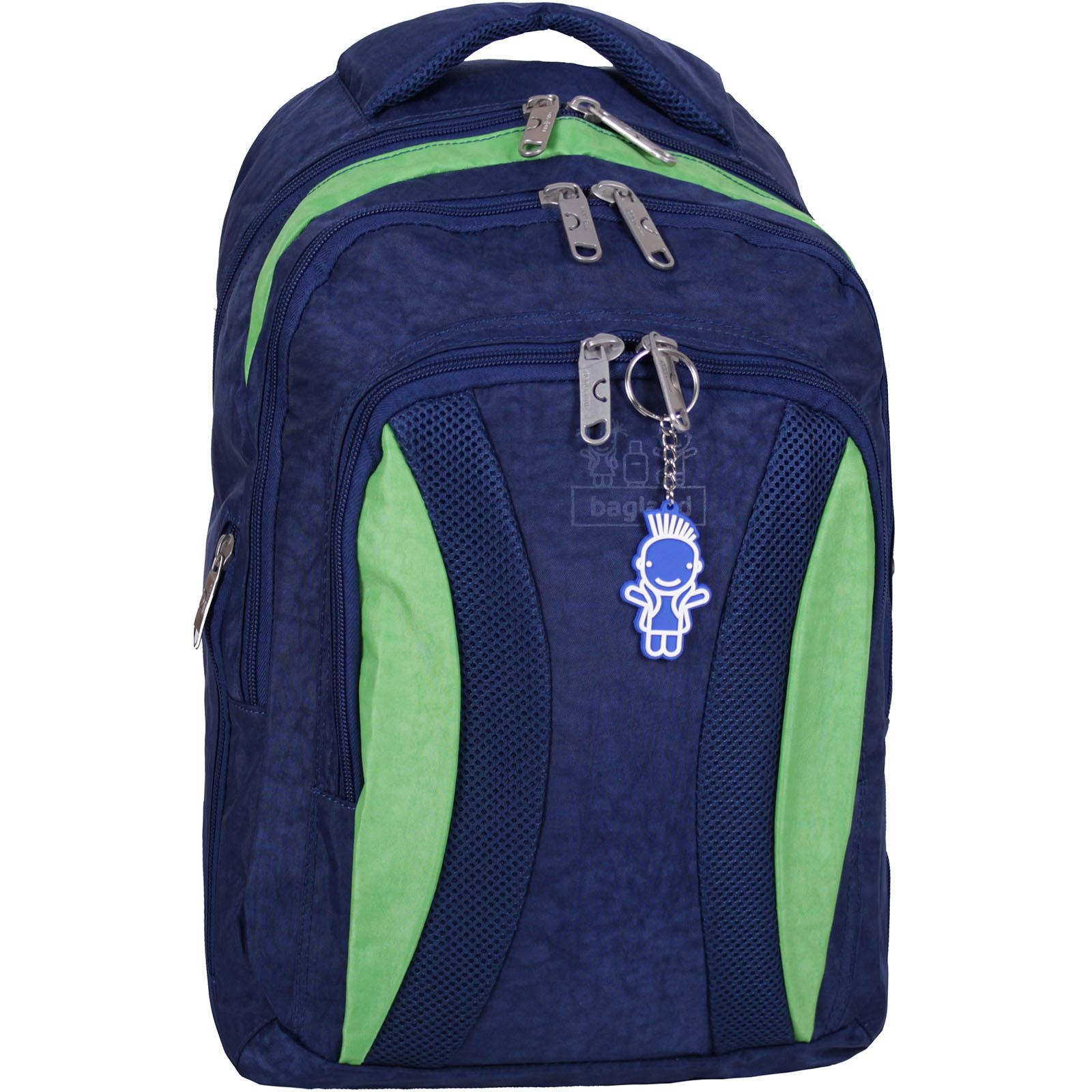 Городские рюкзаки Рюкзак Bagland Драйв 29 л. Синий / салатовый (0018970) IMG_2135.JPG