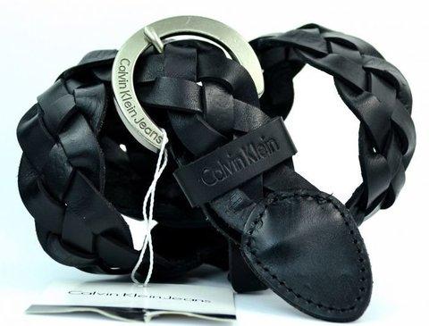 Женский брендовый ремень из кожи Calvin Klein