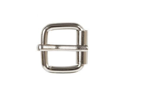 Пряжка роликовая + шлевка 20 мм, никель