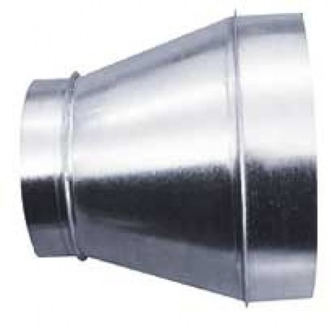 Переход 125х160 оцинкованная сталь