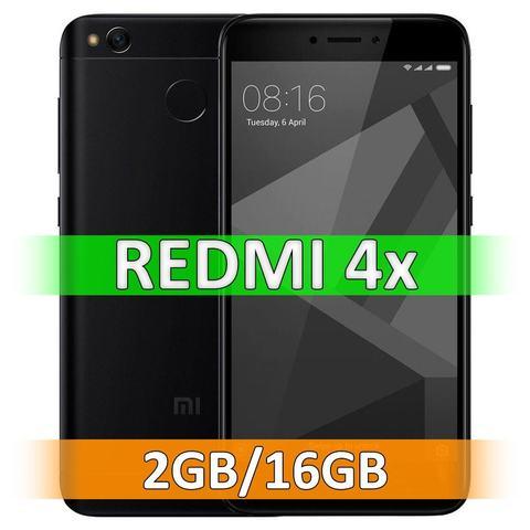 Смартфон Xiaomi Redmi 4X (2-16Gb) Black
