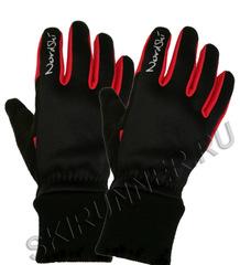 Перчатки Nordski Warm Black-Red WS 18