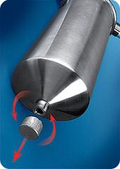 Фильтр Гейзер Тайфун 10ВВ (корпус нерж.сталь с хомутом, Арагон 3, скоба), арт.32066