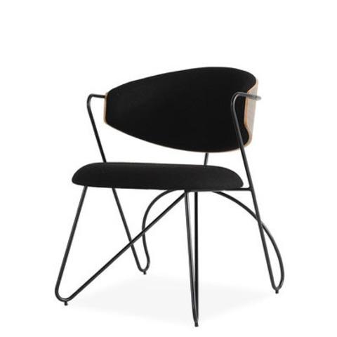 Стул-кресло Sophia by Light Room (черный/черные ножки)