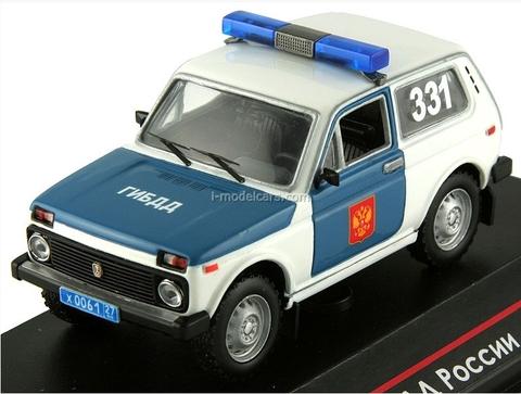 VAZ-2121 Lada Niva GIBDD Russian traffic Police 1:43 ICV089