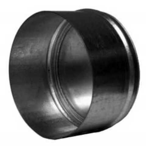 Заглушка D125 оцинкованная сталь