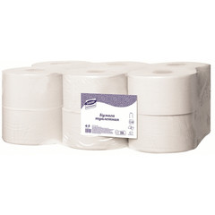 Бумага туалетная в рулонах Luscan Professional 1-слойная 12 рулонов по 200 метров