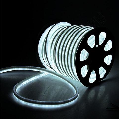 Гибкий неон 15*25 мм, светодиодный | Белый - 50м