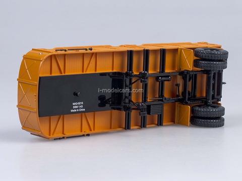 Semitrailer MAZ-5215 orange Start Scale Models (SSM) 1:43