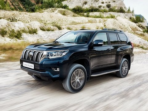 Чехлы на Toyota Land Cruiser Prado 150 2017–2019 г.в.