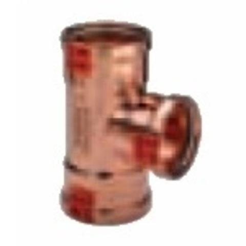 Тройник Viega d108х108х108 под пресс, Profipress XL c SC-Contur, медь
