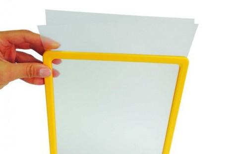 Рамка формата А3 PF-A3, желтый