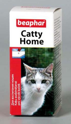 12566 Беафар Catty Home Средство д/кошек для приучения к туалету 10мл*6