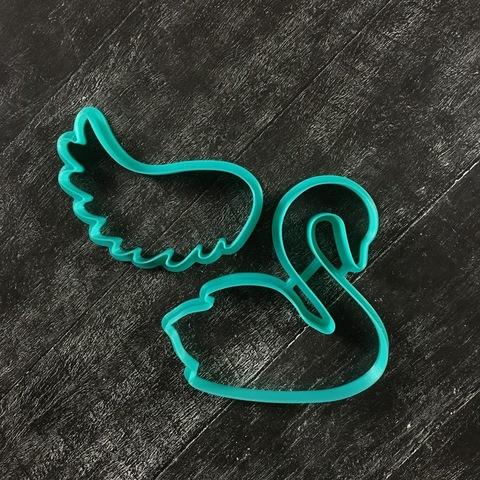 Набор Лебедь с крылом №1