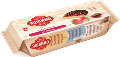 """Печенье """"Яшкино"""" сдобное клубника, 137 г"""