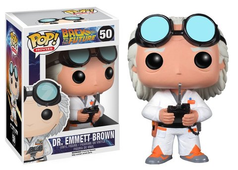 Фигурка Funko POP! Vinyl: BTTF: Doc Brown 3399