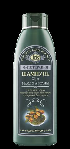 Iris Фитотерапия Шампунь Хна и масло арганы 500 мл