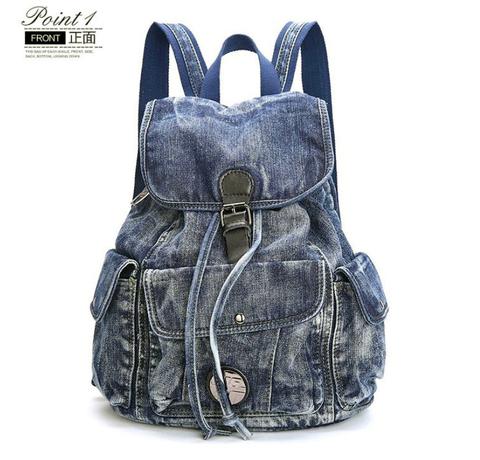 Джинсовый рюкзак Ipeen Jeans Classic