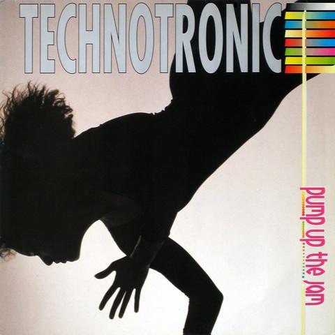 Виниловая пластинка. Technotronic