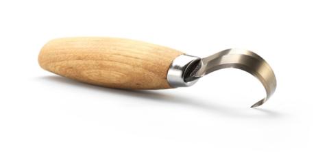 Нож Morakniv Hook Knife 164 Left Hand ложкорез, нержавеющая сталь, рукоять из березы