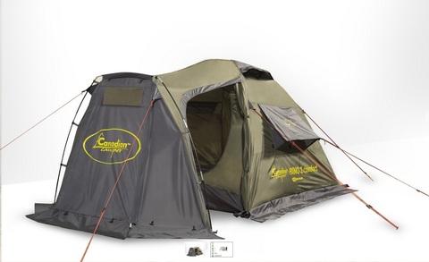 Палатка RINO 2 comfort (цвет forest)