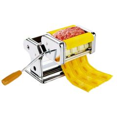 Машинка для раскатывания теста и приготовления равиоли Gusto Pasta Machine and Ravioli Maker