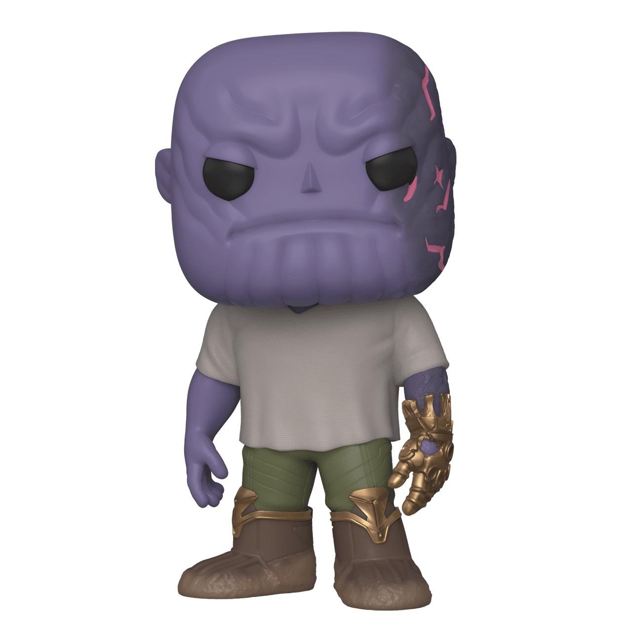 Фигурка Funko POP! Bobble: Marvel: Avengers Endgame: Casual Thanos w/Gauntlet 45141
