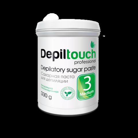 Сахарная паста для депиляции Depiltouch prof средняя 330 г.