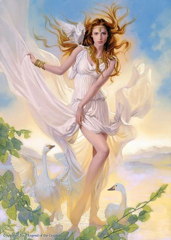 Картина раскраска по номерам 40x50 Девушка в обличии ангела