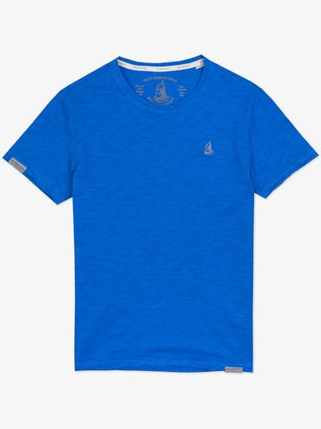 """Men's """"VELIKOROSS"""" blue t-shirt"""