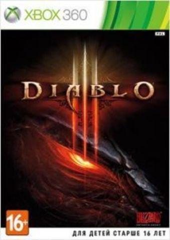 Xbox 360 Diablo III (английская версия)