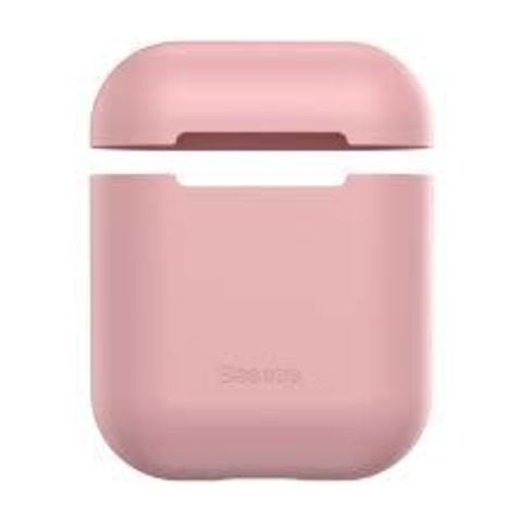 Чехол для Airpods Baseus Ultrathin Series Silica Gel Protector for Airpods 1/2 Pink