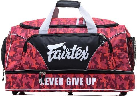 Сумка Fairtex Equipment Gym Bag BAG2 Red Camo