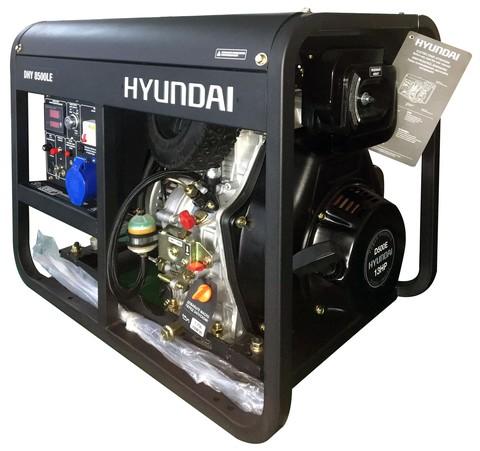 Кожух для дизельного генератора Hyundai DHY 8500LE